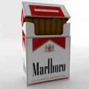 Пачка Marlboro с сигаретами