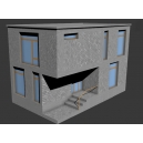 Дом, коттедж, 3D модель