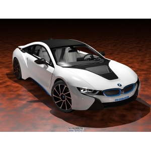 3D model BMW i8