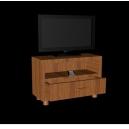 Тумба под телевизор с телевизором и пультом