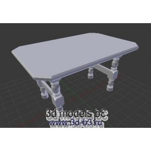 Стол без текстуры