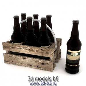 Пиво в ящике